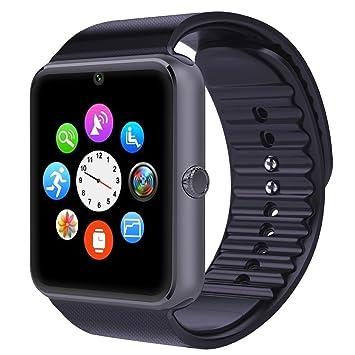 willful Bluetooth SmartWatch Reloj de pulsera inteligente Reloj Fitness Tracker Wristband Deporte Watch Phone con ranura