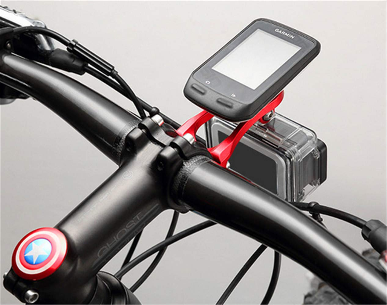 Cycling GPS Units Out Front Bike Computer Mount Aluminium Alloy ...