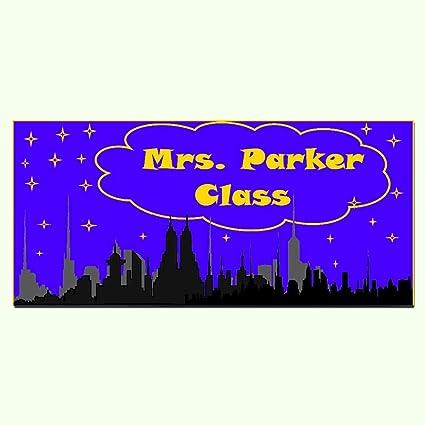 Amazon.com: Personalizable para profesor aula, placa de ...