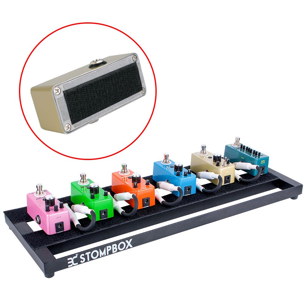 EX Portable Aluminum Guitar Effects Pedalboard