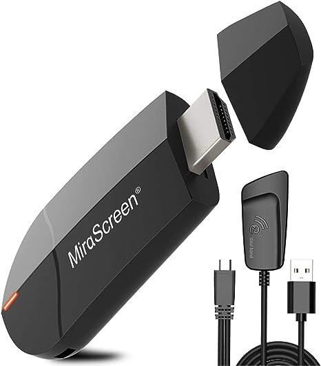 1080P Wireless WiFi Display Dongle HDMI HDR WiFi Display Empf/änger Unterst/ützung Miracast Airplay DLNA,adattatore TV HDMI,f/ür Android//Smartphone//PC//TV//Monitor//Projektor