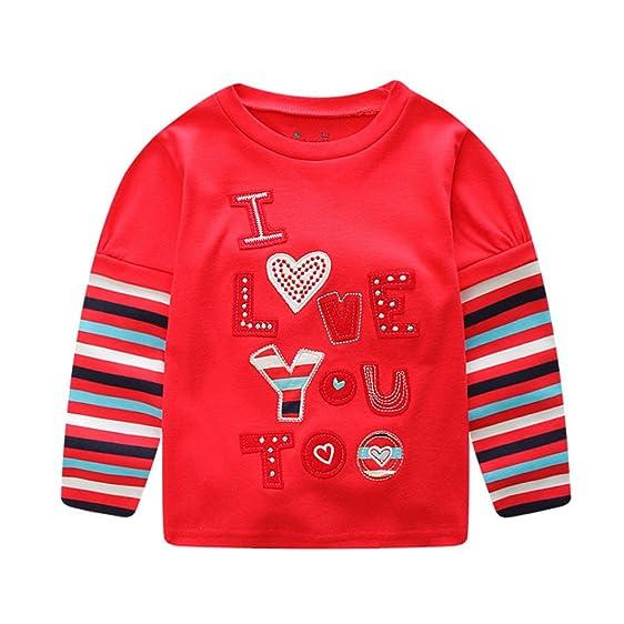 Amazoncom Hatoys Baby Care Baby Girl Valentine Letter Printing