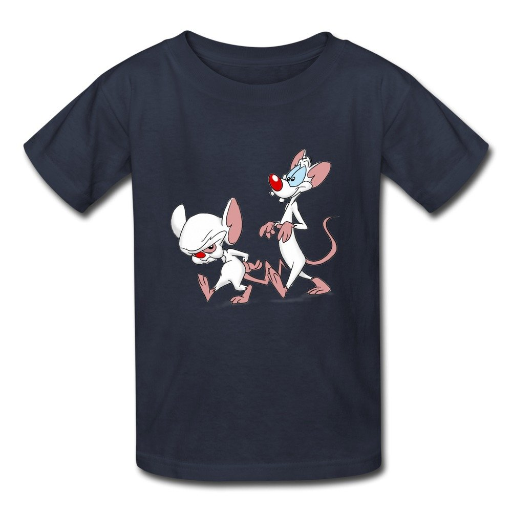 9b5b87b9875 KST Geek Pinky y el Brain Teenage niños y niñas T Camisas Azul Azul Marino  XL  Amazon.es  Ropa y accesorios