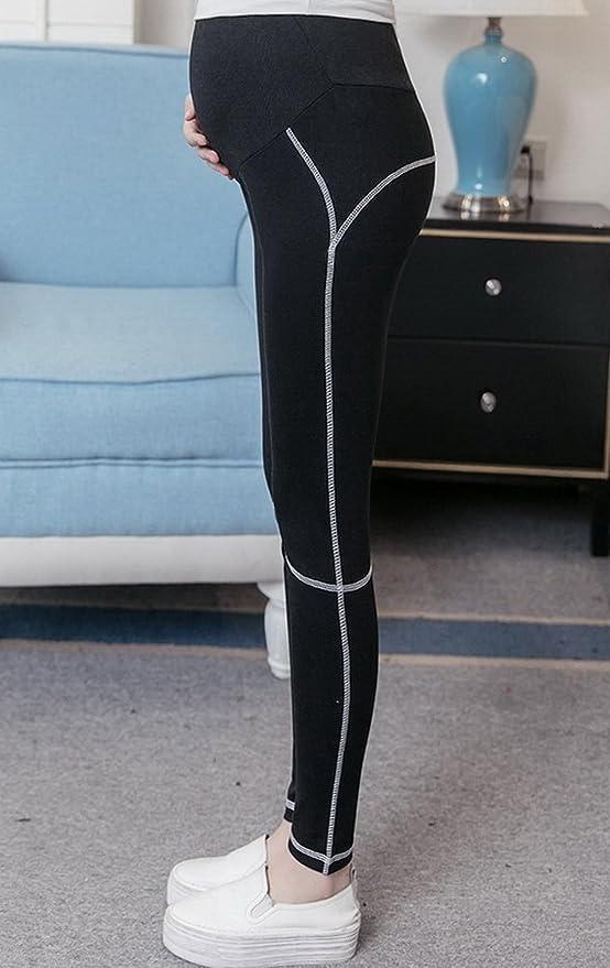 41c46a05c26d9 Fold Over Waist Band 20180227160 Shops Foucome Maternity Yoga Capri Pants  Leggings