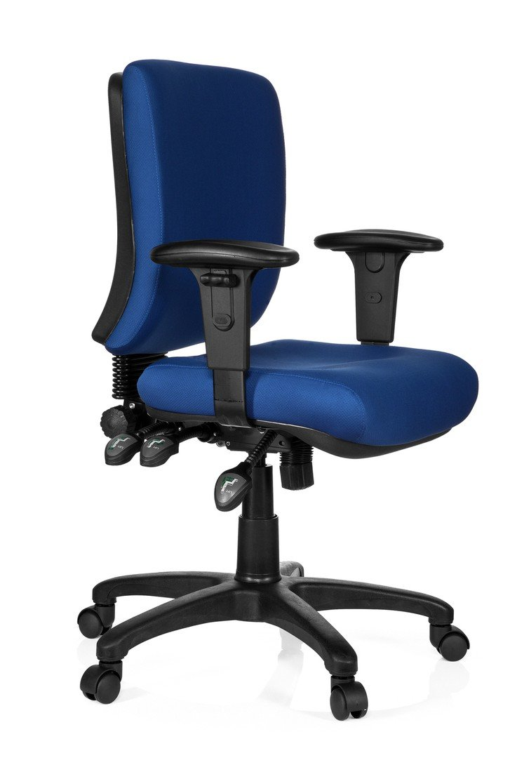 hjh OFFICE Zenit Base Silla de Oficina, Azul, 45 x 56 x 114: Amazon.es: Hogar