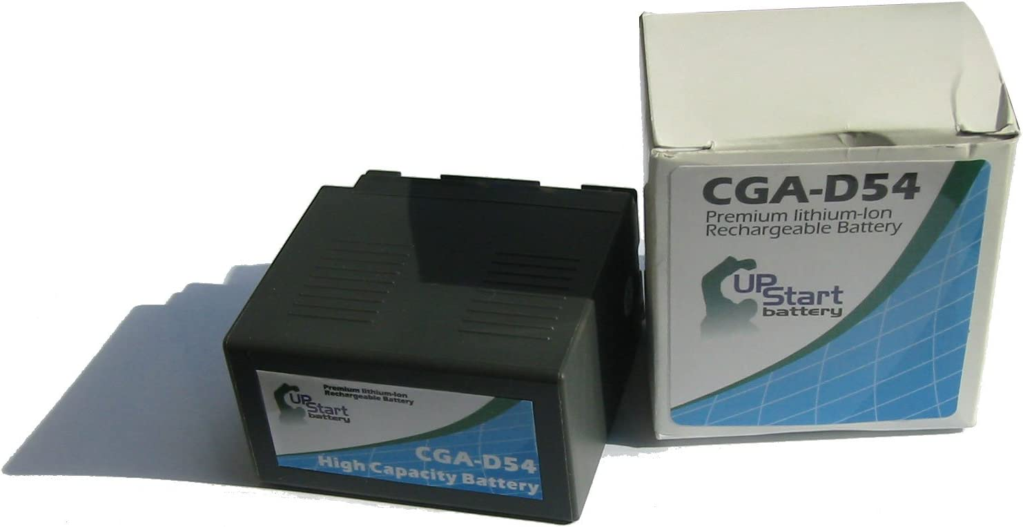 Upstart Battery CGA-D54 CGR-D54 CGA-D54SE//1B Replacement Battery for Panasonic AG DV Series Camcorders