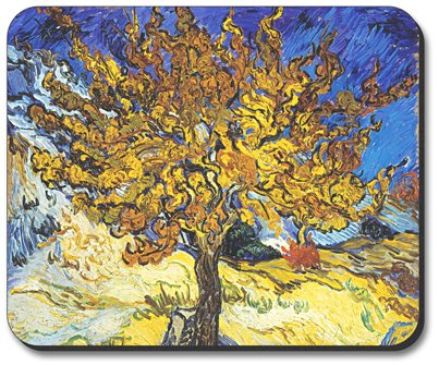 Van Gogh - Mulberry Tree Mouse Pad - By Art Plates