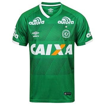 chapecoense equipación 2016 2017, Hombre, Verde, Large: Amazon.es: Deportes y aire libre
