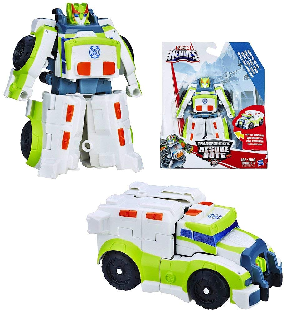 Medix The Doc-Bot to Ambulance Rescue Heroes Transformer 4.5