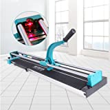 Manual Tile Cutter Tools for Porcelain Ceramic Floor Tile Cutter with Adjustable Laser Guide for Precision Cutting (48 Inch)
