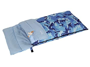 Bertoni Bimbo Junior 150 Camuflaje Azul Saco de Dormir ...