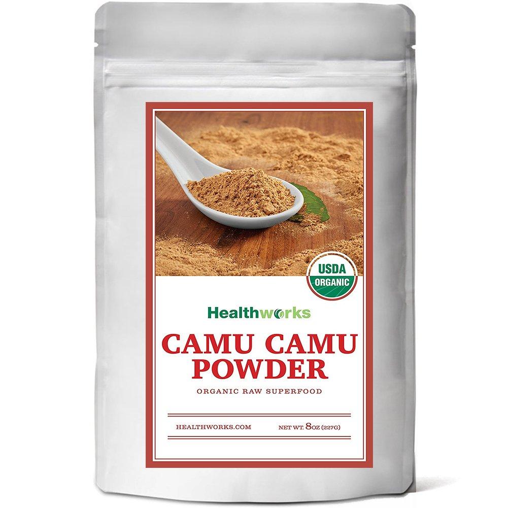 Healthworks Camu Camu Powder Organic, 8oz by Healthworks