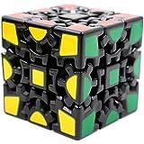 Magic Cube 3X3 V1 Gear, Black