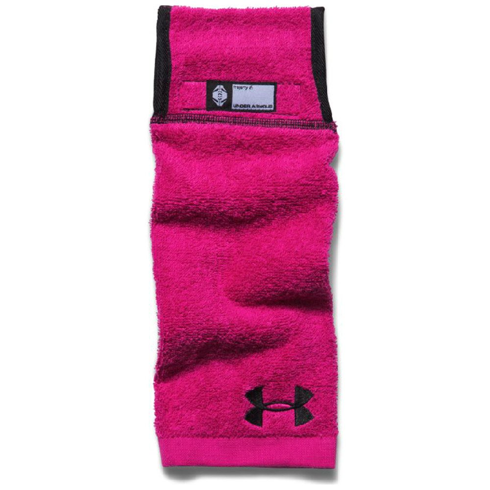 Under Armour Mens Undeniable Player Towel, Tropic Pink/Black, One Size by Under Armour (Image #1)