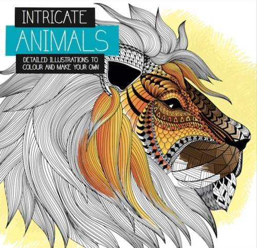 Intricate Animals (Intricate Colouring) PDF