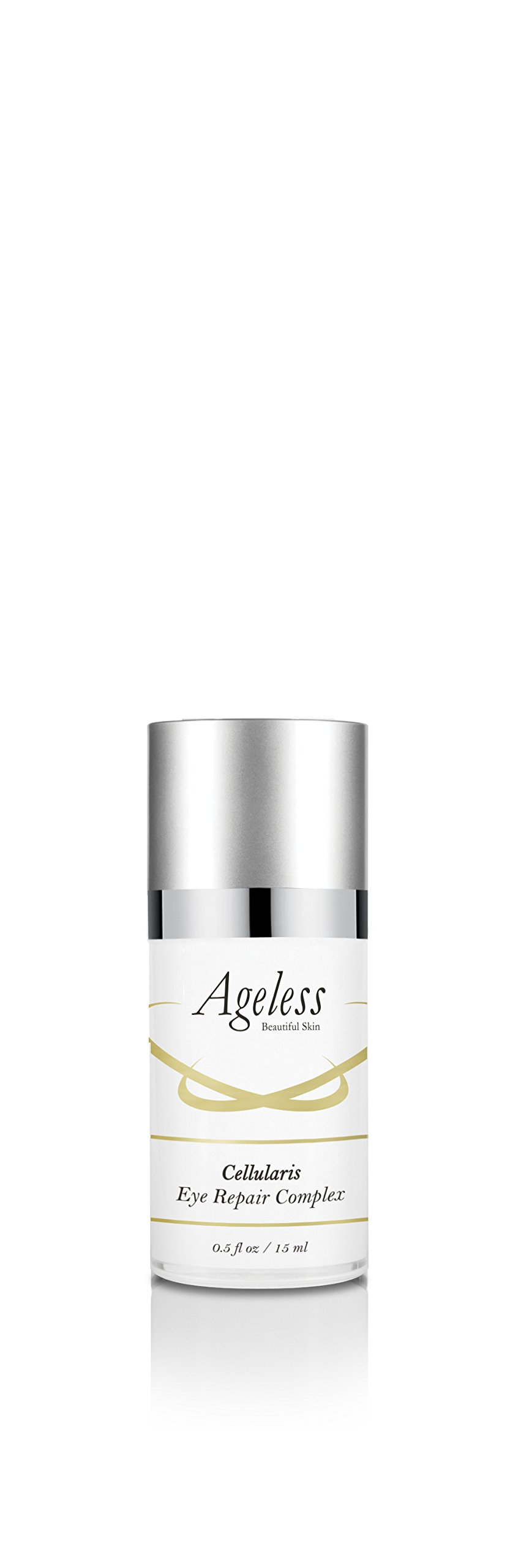 Ageless Beautiful Skin Cellularis Eye Repair Complex 0.5 fl oz / 15 ml - Anti-Aging Cream - Hydrating and Nourishing Peptide Solution