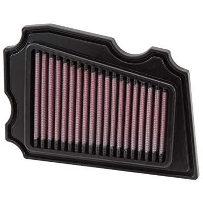 K&N Engine Air Filter: High Performance, Premium, Powersport Air Filter: 1987-2020 YAMAHA (TW200) YA-2002: Automotive