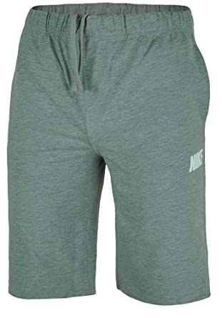 d4cfbf186053 NIKE Mens Shorts Cotton Jersey Sports Shorts Gym Fitness Grey S -XL New (S