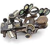 White Star line-solid Messing sextant-titanic Kuriositäten Messing brüniert Casanova nauticals Sextant