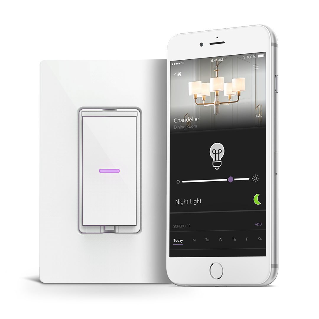 iDevices Dimmer Switch - WiFi Smart Dimmer Switch, No Hub Required, Single Pole/3/4-way Set Up, Works with Alexa, Apple HomeKit and Google Home