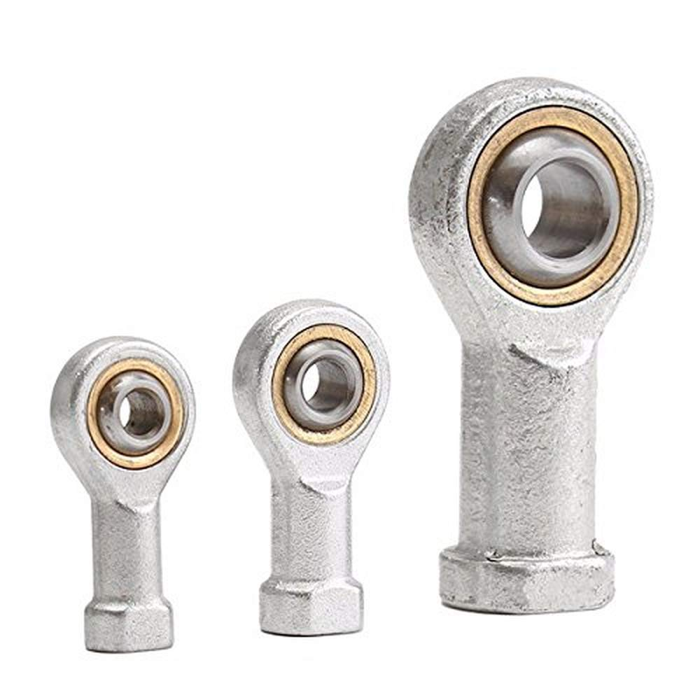 M5//6//12 Female Rose Joint Right Thread Bronze Liner Performance Rod End M6