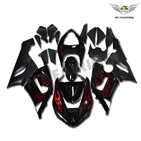 Amazon.com: NT FAIRING Fit for Kawasaki Ninja ZX6R 636 2005 ...