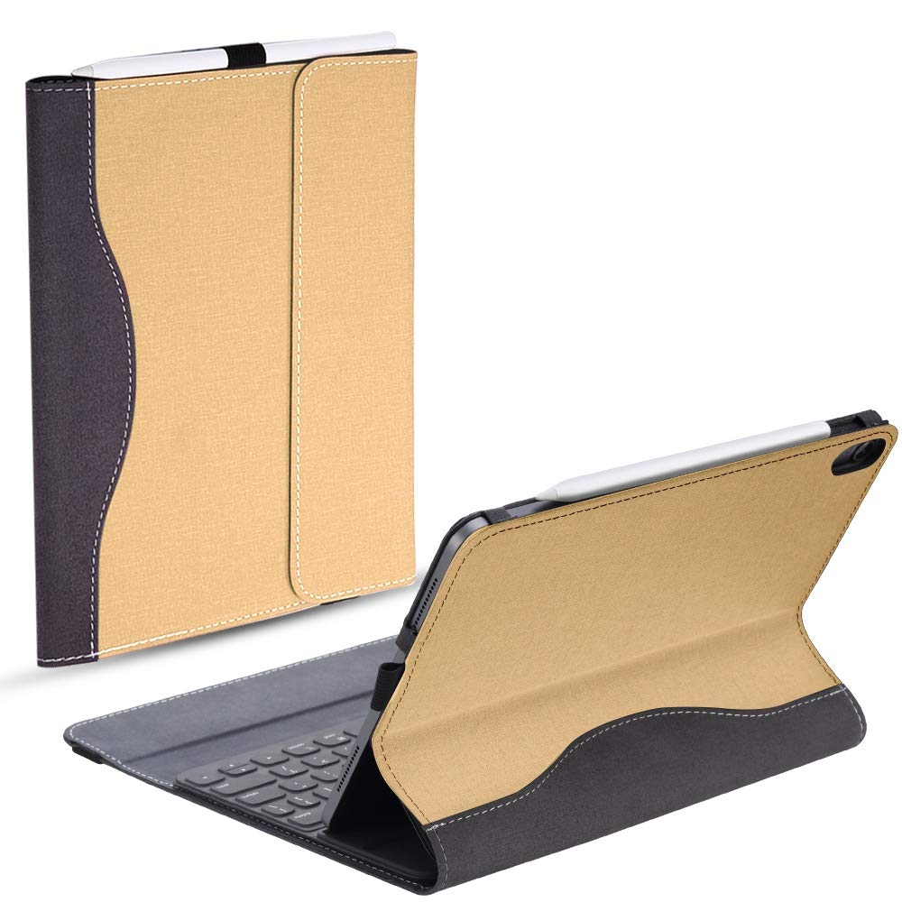 最安値に挑戦! AICEDA iPad Pro 11インチ 2018ケース iPad 高級PUレザーウォレット 3239-RT-561 フリップ保護バックカバーケースカバー カードスロットとスタンド付き 2018ケース iPad Pro 11インチ 2018年 ブラウン, 3239-RT-561 ゴールド B07L1S3BSH, タオルの通販コットンリリーフ:1f57f2a3 --- a0267596.xsph.ru