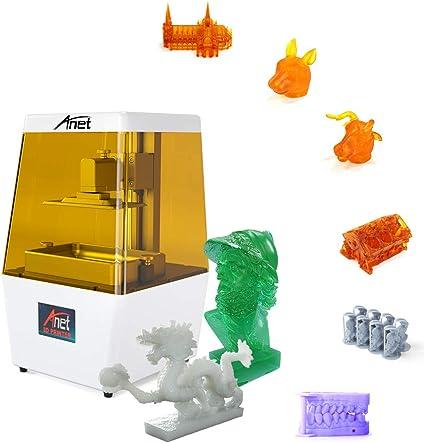 Aibecy Máquina de impresora 3D Anet N4 UV LCD Totalmente ...