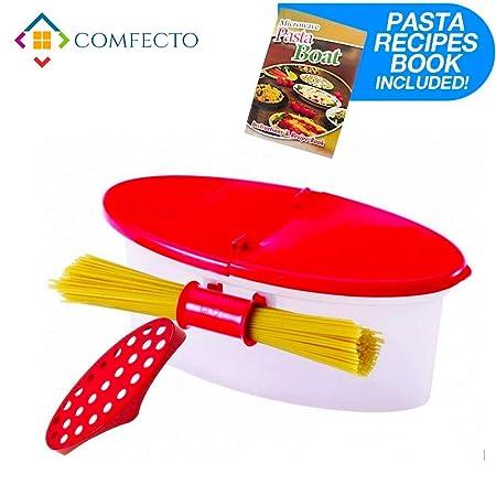 Hot Pasta Boat - Cocedor de pasta para microondas ...