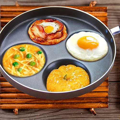 Four holes Non-stick Fried Egg Pan 24CM