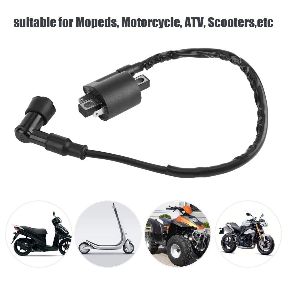 motocicleta Bobina de encendido de 2 pines para CBF125 CBR125 CR125 CR250 CRF450 CR500 TRX650 TRX700 Bobina de encendido
