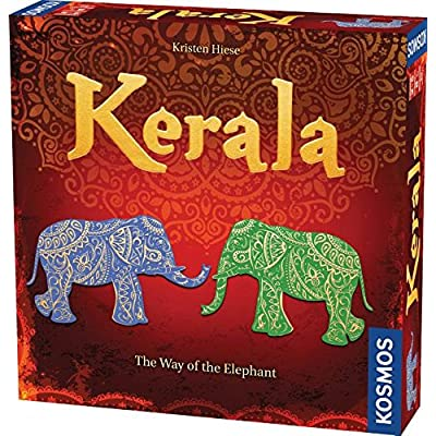 Thames & Kosmos Kerala (The Way of The Elephant) Game: Toys & Games