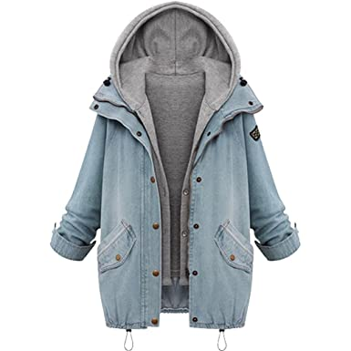 d26d19df188 BURFLY Women Plus Size Hooded Coat Set