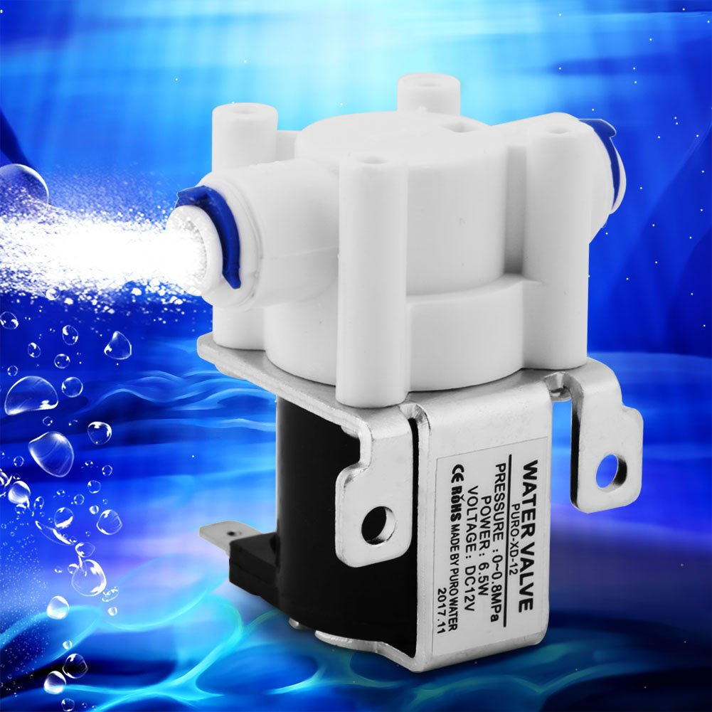 1//4 pulgadas DC 12 V Electrov/álvula el/éctrica normalmente cerrada v/álvula purificador de agua