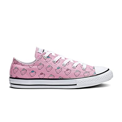 3f92894d4fd8f6 Converse Chuck Taylor All Star Hello Kitty Ox Prism Pink White Canvas 1 M US