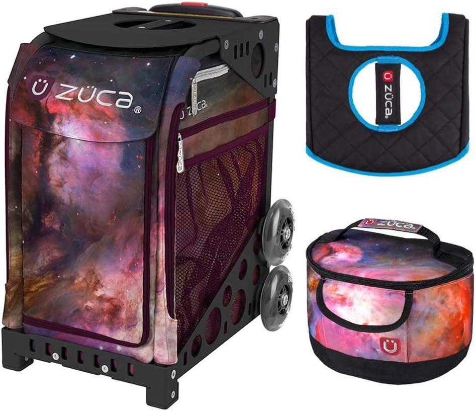 Zuca Galaxy スポーツインサートバッグ&ブラックフレーム ギフトランチボックス+シートクッション付き