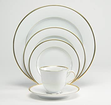 Nikko Fine China Band Of Gold Dinner Plate  sc 1 st  Amazon.com & Amazon.com | Nikko Fine China Band Of Gold Dinner Plate: Dinner Plates