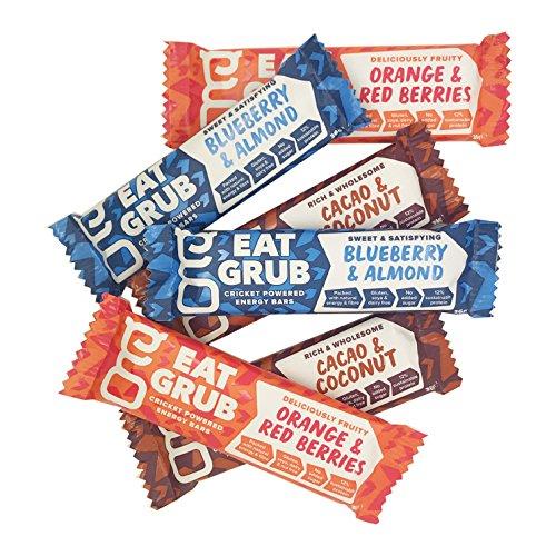 Eat Grub: natural energy bar - Value Taster 6 Pack by Eat Grub: natural energy bar