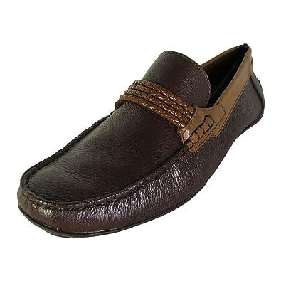 c5fe10eb81a Steve Madden Mens P-Adlyr Slip On Driver Shoes