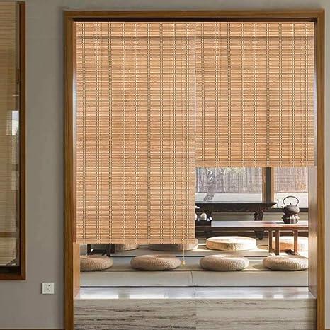 Estores De Bambú Persianas QIANDA Protección Privacidad Venecianas Enrollable Cortina Tabique con Tracción Lateral, Cualquier Tamaño De 50cm A 180cm De Ancho (Color : B, Size : 120cmX160cm): Amazon.es: Hogar