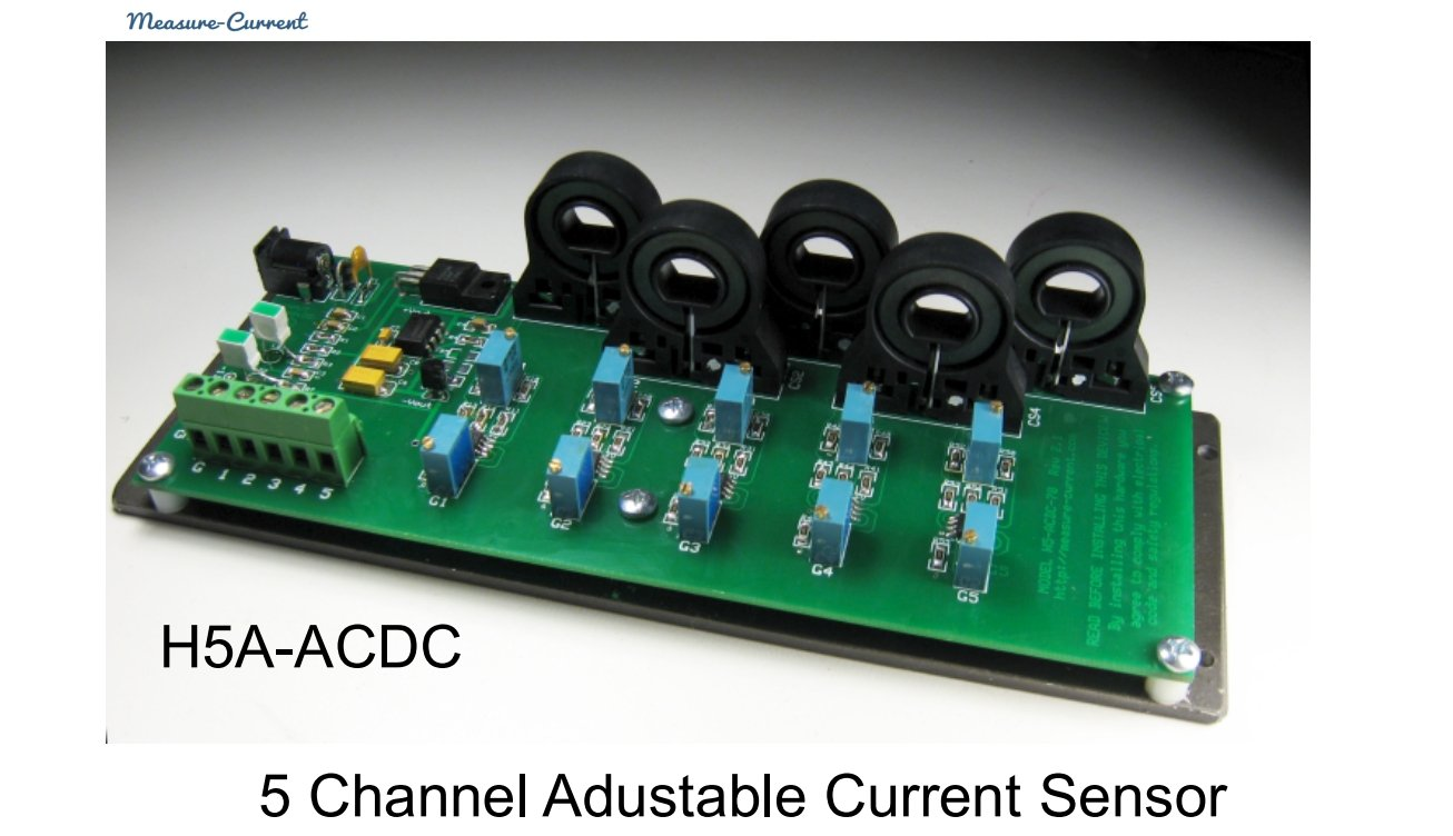5 Way Multiple Channels C T Ac Dc Current Sensor Hall To Measure And Power Using A Effect Transducer Clamp For Industrial Testing Data Logging Rd Solar Wind Home