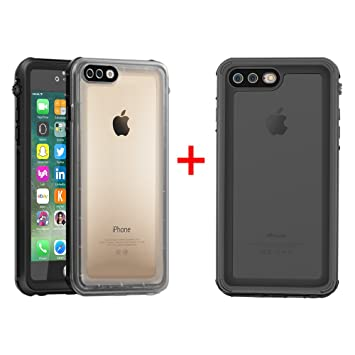Amazon.com: iPhone 7 Plus Funda impermeable, Eonfine iPhone ...