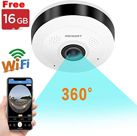 IP Camera Wireless Home Security CCTV System Room Office WIFI Alarm Night Vision