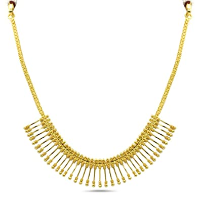 Buy Candere By Kalyan Jewellers 22KT Yellow Gold Necklace