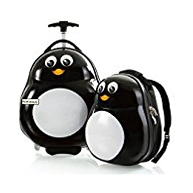 Amazon.com | HEYS Kids 2Pc. Travel Tots (Penguin) Lightweight ...
