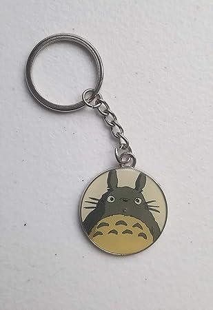 Amazon.com: Colección de llavero Totoro Circle de 1.5 in ...
