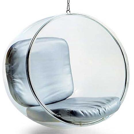 Poltrona Sospesa Bubble Chair.Designetsamaison Poltrona Sospesa Bubble Chair Di Argento