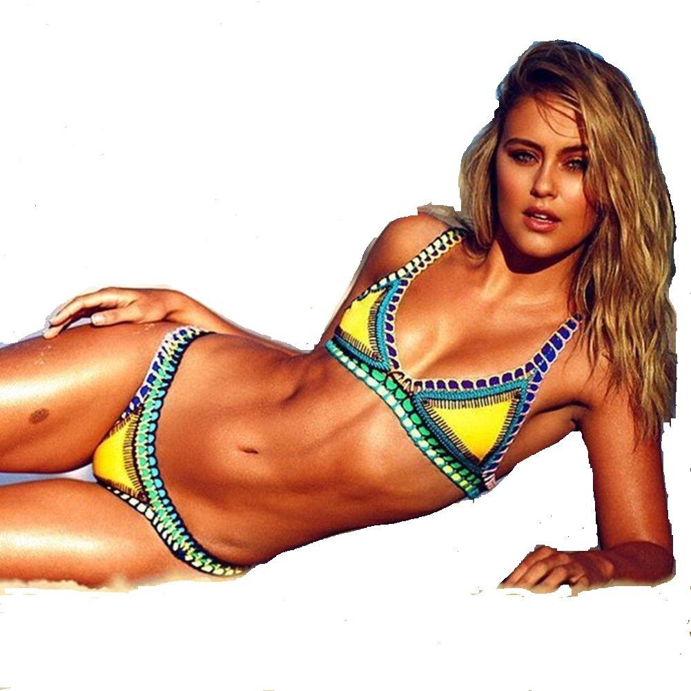 e40bfb7568e062 2017 summer knitted crochet Brazilian Bikini Women Swimsuit Swimwear  Beachwear Swimsuit Maillot de Bain Femme Swimwear