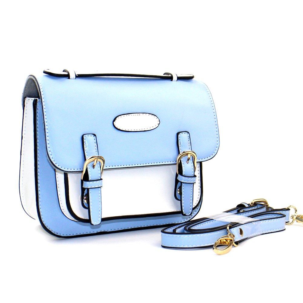 Shaveh PU Leather Single shoulder Camera Bag Case with adjustable Shoulder Strap for Fujifilm Instax Mini 7s,Mini 8,Mini 9, Mini 25,Mini 70, Mini 90 Instant Cameras and Polaroid Instant Camera(Blue)
