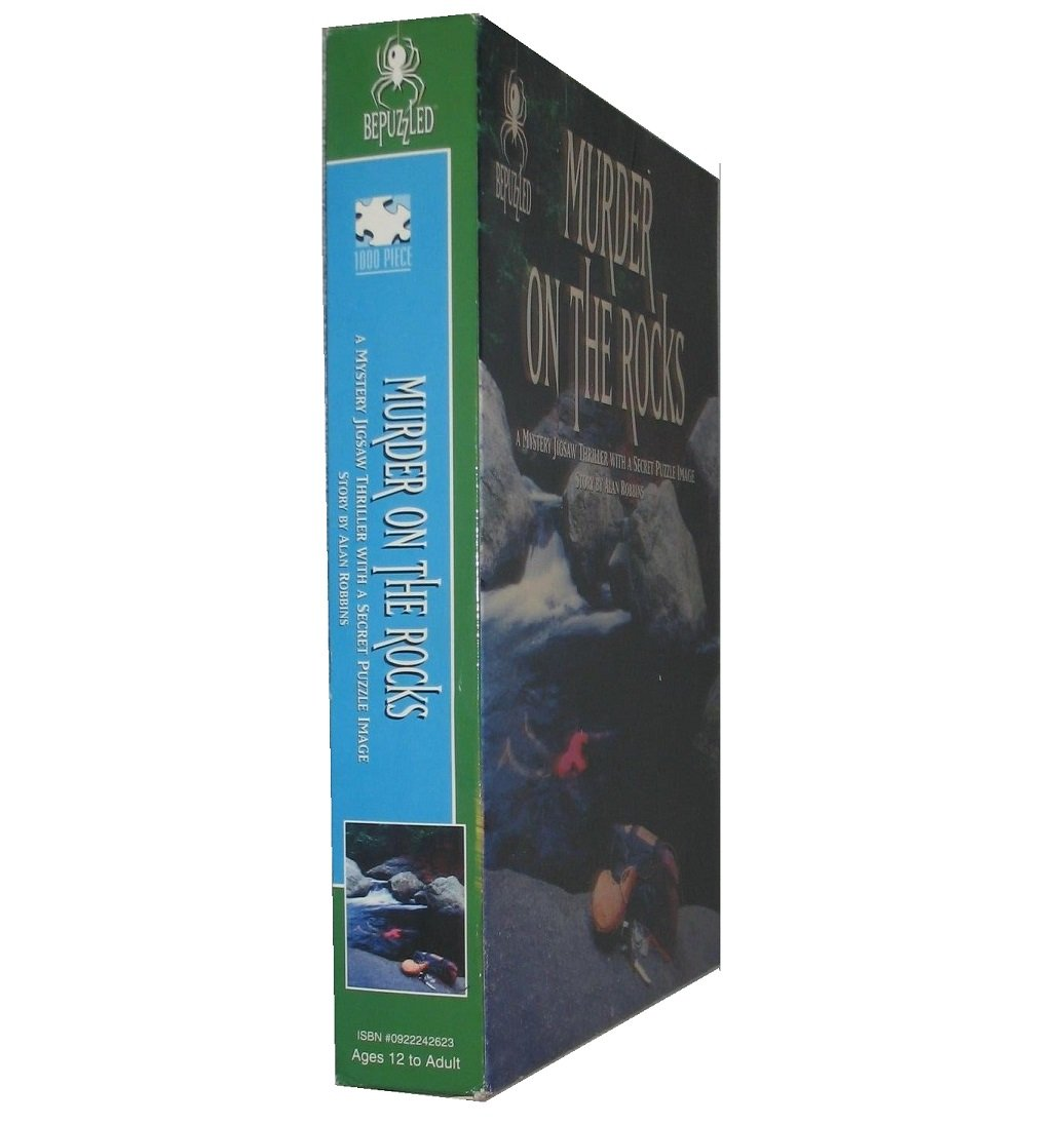 Amazon.com: Mystery Jigsaw Puzzle - Murder on the Rocks by Bepuzzled ...